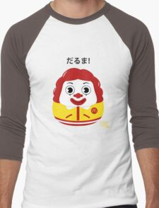 Ronald Daruma Men's Baseball ¾ T-Shirt