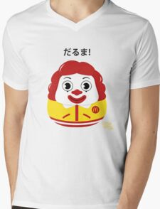 Ronald Daruma Mens V-Neck T-Shirt