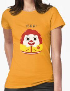 Ronald Daruma Womens Fitted T-Shirt