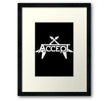 ACCEPT HEAVY METAL Framed Print