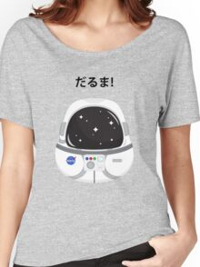 Daruma Astronaut Women's Relaxed Fit T-Shirt
