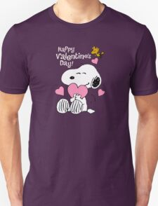 Happy Valentines Day Snoopy T-Shirt
