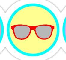 Summer Badges Sticker