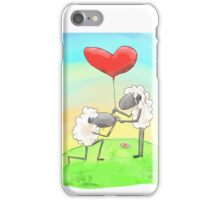 romantic sheephead  iPhone Case/Skin