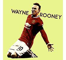 Wayne Rooney 1 Photographic Print