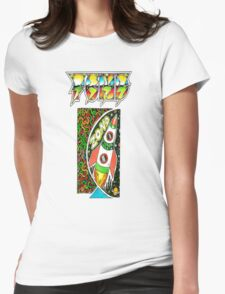 Pond Print 'Zond' Womens Fitted T-Shirt