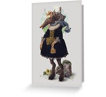 Country-girl, City-life Greeting Card