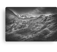 Mystic Alps III Canvas Print