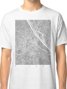 Vienna map grey Classic T-Shirt