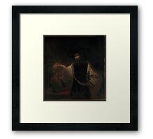 Aristotle with a Bust of Homer ,  Rembrandt (Rembrandt van Rijn) Framed Print
