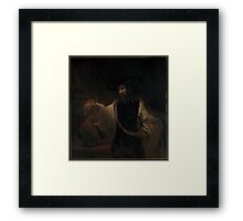 Aristotle with a Bust of Homer ,  Rembrandt (Rembrandt van Rijn) Framed Print