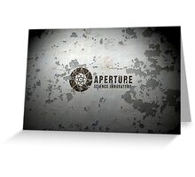 Aperture Science Innovations Greeting Card