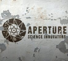 Aperture Science Innovations Sticker