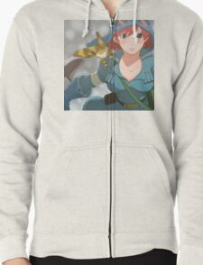 Nausicaa of the Valley of the Wind Zipped Hoodie