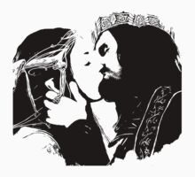 Aragorn and Arwen Kiss Kids Clothes