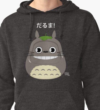 Totoro Daruma Pullover Hoodie