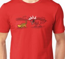 The Plight of the Tacosaurus Unisex T-Shirt