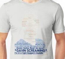 Gavin Free Typography Unisex T-Shirt