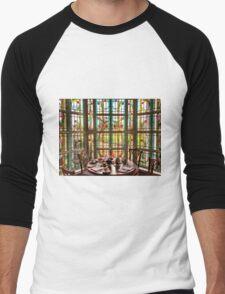 Art Deco Window Men's Baseball ¾ T-Shirt