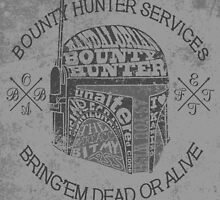 Hunter services. by J.C. Maziu