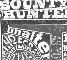 Hunter services. Sticker
