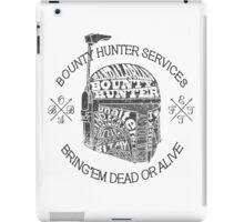 Hunter services. iPad Case/Skin