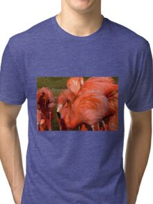 Simply Red.......Well.....Almost.... Tri-blend T-Shirt