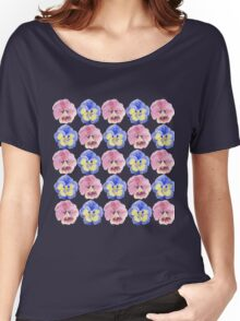 Pansies Women's Relaxed Fit T-Shirt