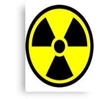 "Nuclear Hazard - ""Stay back!"" Canvas Print"