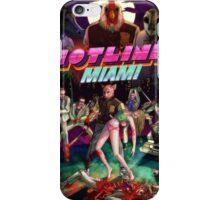 Hotline Miami Cover iPhone Case/Skin