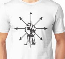Controlled Chaos (Black) Unisex T-Shirt