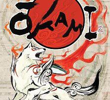 Classic Okami by Hlodwig