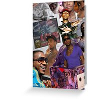 Lil B BasedGod Greeting Card