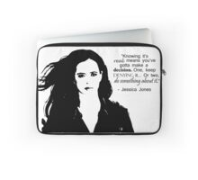 "Jessica Jones - ""Do something about it"" Laptop Sleeve"