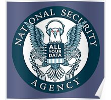 national security agency ( parody ) Poster