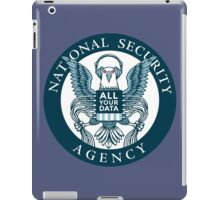 national security agency ( parody ) iPad Case/Skin