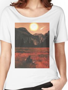 Meet Me In A House Of Love. Women's Relaxed Fit T-Shirt