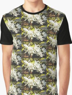 Tropical Impressions - Dreamy White Orchids Graphic T-Shirt