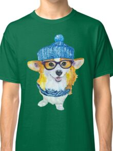 the corgi dog  Classic T-Shirt