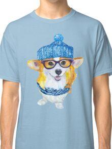the corgi dog  Classic T-Shirt