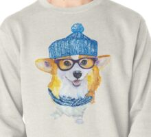 the corgi dog  Pullover