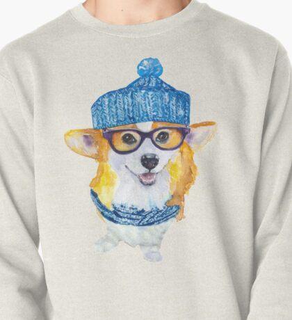the corgi dog  Pullover