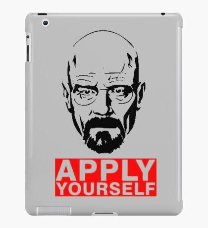 Apply Yourself  iPad Case/Skin