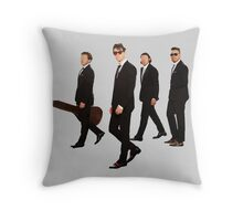 Reservoir Monkeys Throw Pillow