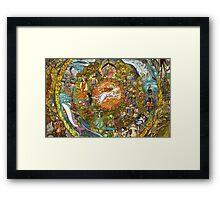 Okami's World Framed Print