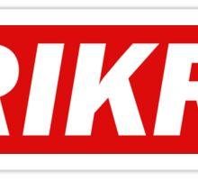 The 100 - Trikru (Tree People) - Obey Type Style Sticker