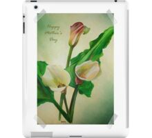 Happy Mother's Day - Scrap Book Calla's iPad Case/Skin