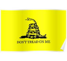 Gadsden flag - Don't tread on me Poster