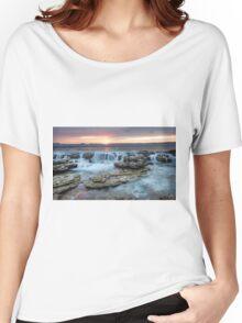 Hyams Beach Sunrise Women's Relaxed Fit T-Shirt