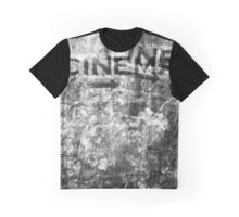 The black and white mystery of cinematography Graphic T-Shirt